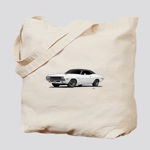 1970 Challenger White Tote Bag