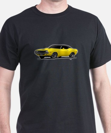 1970 Challenger Bright Yellow T-Shirt