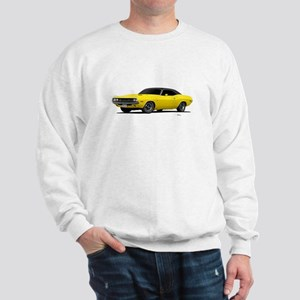 1970 Challenger Bright Yellow Sweatshirt
