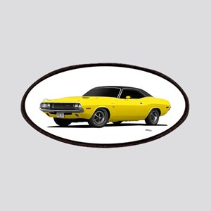 1970 Challenger Bright Yellow Patches