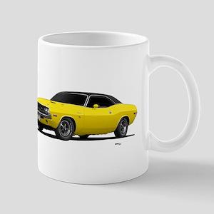 1970 Challenger Bright Yellow Mug