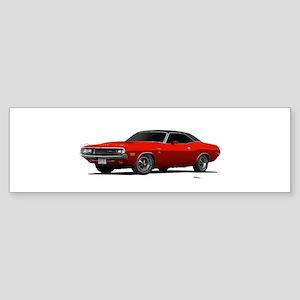 1970 Challenger Go Mango Sticker (Bumper)
