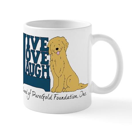 Live Love Laugh Logo Mug
