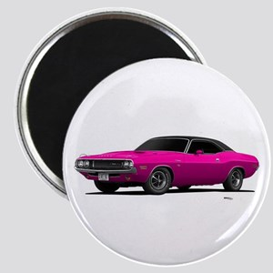 1970 Challenger Panther Pink Magnet