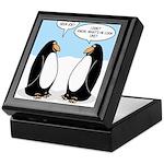 Penguins Keepsake Box