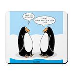 Penguin Identity Crisis Mousepad