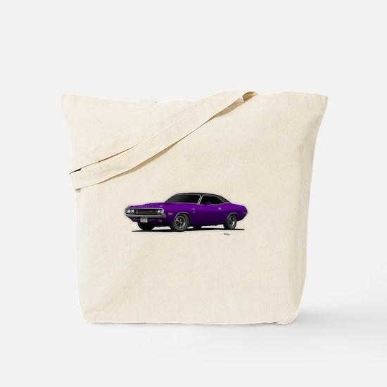 1970 Challenger Plum Crazy Tote Bag
