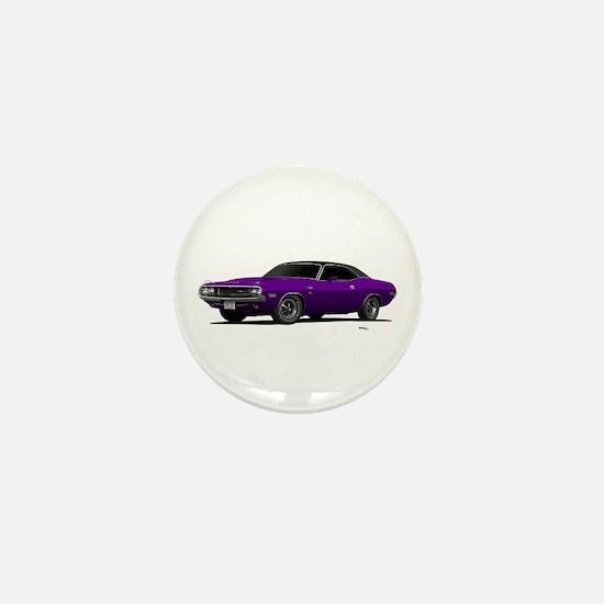 1970 Challenger Plum Crazy Mini Button