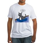 OTL Cartoon of the Week Fitted T-Shirt