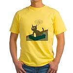 OTL Cartoon of the Week Yellow T-Shirt