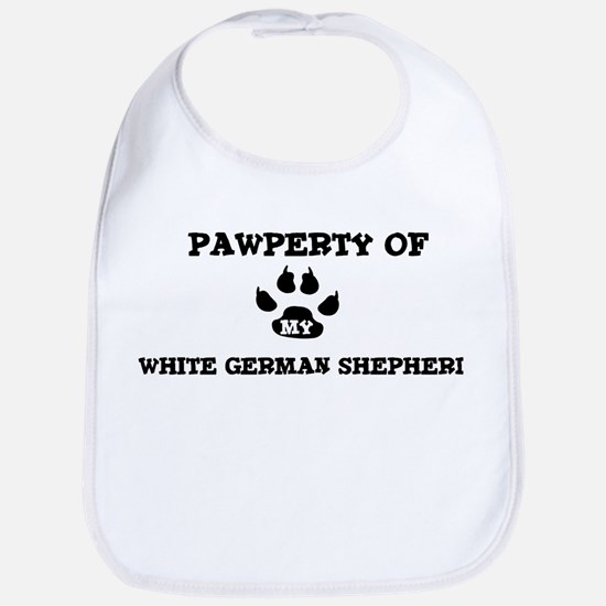 Pawperty: White German Shephe Bib
