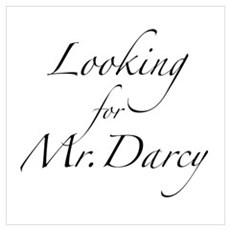 Looking for Mr. Darcy Wall Art Poster