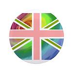 Rainbow Union Jack Flag 3.5