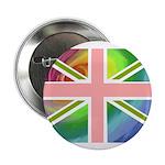 Rainbow Union Jack Flag 2.25