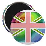 Rainbow Union Jack Flag Magnet