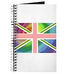 Rainbow Union Jack Flag Journal