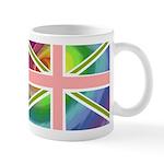 Rainbow Union Jack Flag Mug