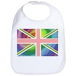 Rainbow Union Jack Flag Bib
