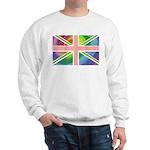 Rainbow Union Jack Flag Sweatshirt