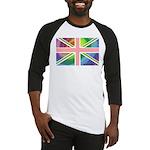 Rainbow Union Jack Flag Baseball Jersey