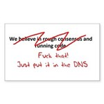 Put it in DNS Sticker (Rectangle)
