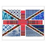 Tartan and other patterns uni Small Poster