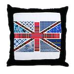 Tartan and other patterns uni Throw Pillow