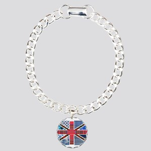 Tartan and other patterns uni Charm Bracelet, One