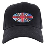 Tartan and other patterns uni Black Cap