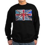Tartan and other patterns uni Sweatshirt (dark)