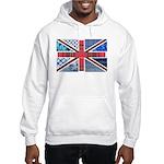 Tartan and other patterns uni Hooded Sweatshirt