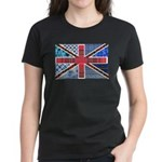 Tartan and other patterns uni Women's Dark T-Shirt