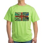Tartan and other patterns uni Green T-Shirt