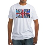 Tartan and other patterns uni Fitted T-Shirt