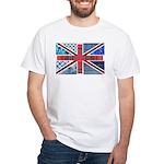 Tartan and other patterns uni White T-Shirt