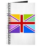 Rainbow British Flag Journal