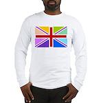 Rainbow British Flag Long Sleeve T-Shirt