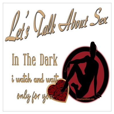 Let's Talk About Sex Series Wall Art Poster