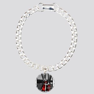 Red High Heels Charm Bracelet, One Charm