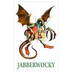 JABBERWOCKY Wall Art Poster
