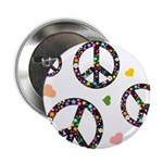Peace signs and hearts patter 2.25