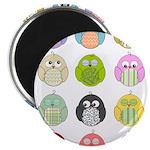 Cute Owls Magnet