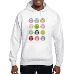 Cute Owls Hooded Sweatshirt