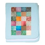Patchwork Quilt squares patte baby blanket