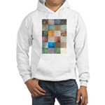 Patchwork Quilt squares patte Hooded Sweatshirt