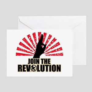 Join the Revolution Greeting Card
