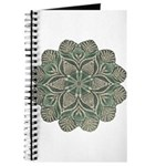Green and Black Lacey Doily d Journal