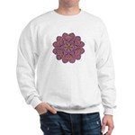 Pink and black flowery Lace D Sweatshirt