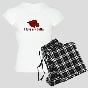 I Love My Betta Women's Light Pajamas