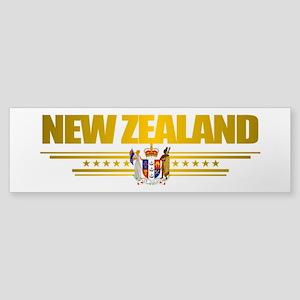 """New Zealand Pride"" Sticker (Bumper)"
